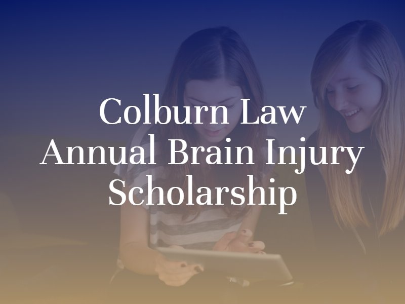 Annual Brain Injury Scholarship