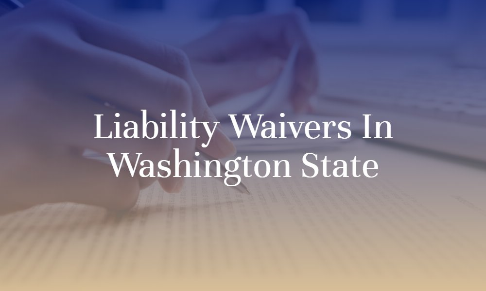 Liability Waiver Claims